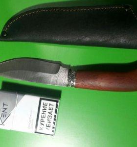 нож кабан дамаская сталь