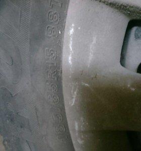Зимний комплект колёс на Lanser 9
