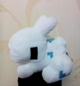 Плюшевые игрушки Майнкрафт Кролик