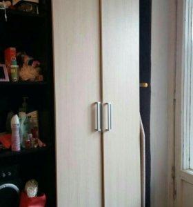 Шкаф в прихожую + стелаж