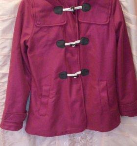 Куртка из флиса с капюшоном и подкладкой