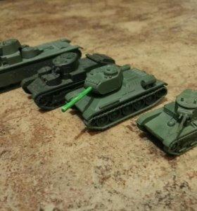 Модели советских танков