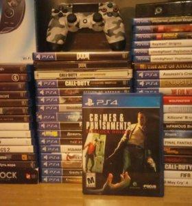 Диск Playstation 4 Sherlock Holmes C&P ps4 игра