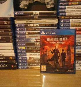 Диск Playstation 4 Sherlock Holmes TDD ps4 игра