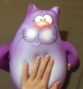 Игрушка Антистресс кот подушка