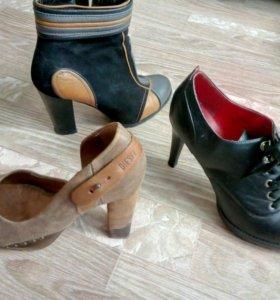 Полуботинки, туфли 39-40