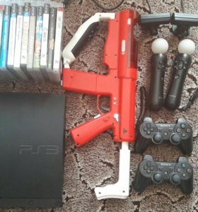 Sony PlayStation 3 в комплекте