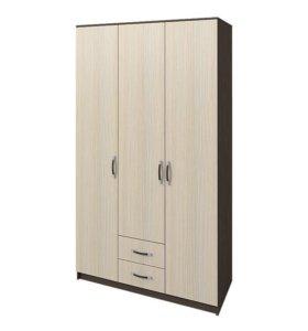 Шкаф Ронда 1,2 м 3-х створчатый