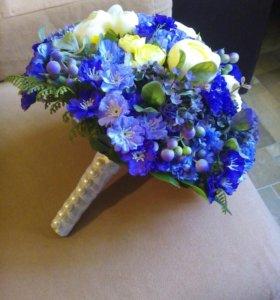 Букет, из искусственных цветов