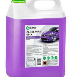 Автошампунь Grass Active Foam Gel+