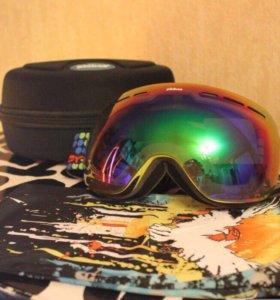 Горнолыжные и сноуборд маски