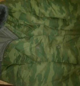 Бушлат,ватники армейский флора 52-3