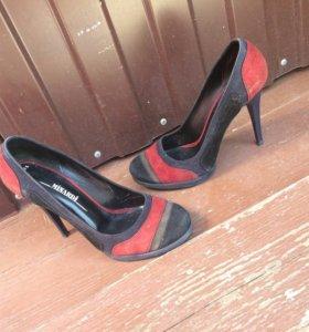 Туфли замш