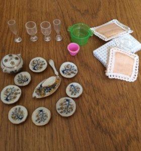 Набор посуды для lps и других игрушек