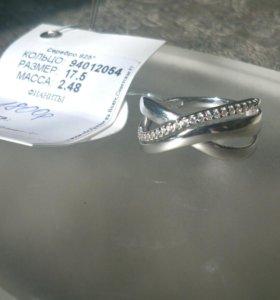 Кольцо sokolov серебряное