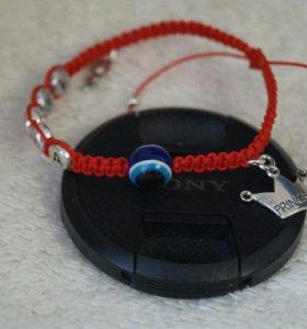 Красная нить-символ успеха