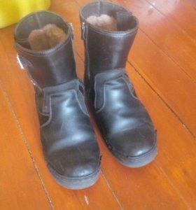 Сапоги зима, ботинки весна