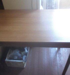 Стол обеденный размер 110*70,160*70 в разлож.виде