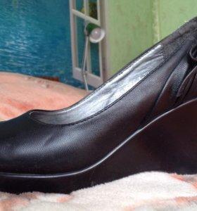 Туфли, искусственная кожа, р. 37-38