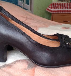 Новые туфли, натуральная кожа, р. 36-37