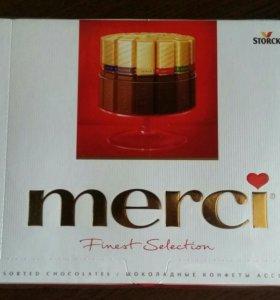 Подарочные наборы конфет mersi