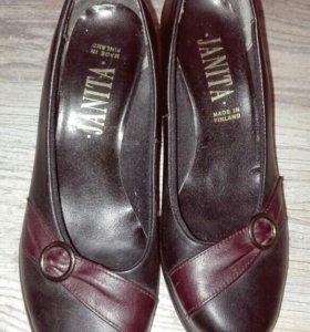 Продам туфли ,натуральная кожа.
