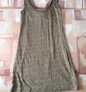 Платье из тонкого трикотажа