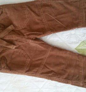 Новые вильветовые штанишки