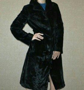 Пальто под каракуль SOHO+подарок