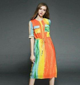 Новое, летние платье, 48 размер