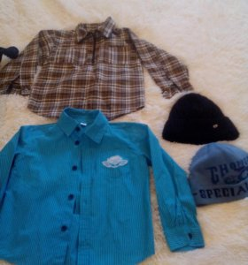 Рубашки и шапки
