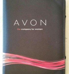 Обложка с калькулятором AVON