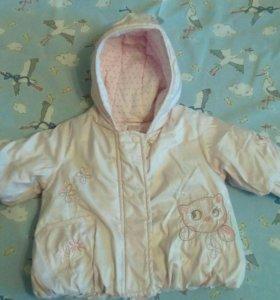 Демисезонная куртка next bebi