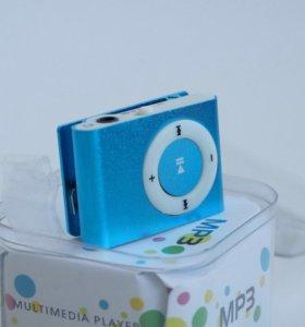 iPod плеер голубой