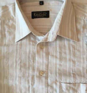 Мужские рубашки с коротким рукавом (3 штуки)