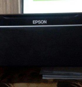 МФУ(Принтер, сканер, копир) Epson Stylus SX125