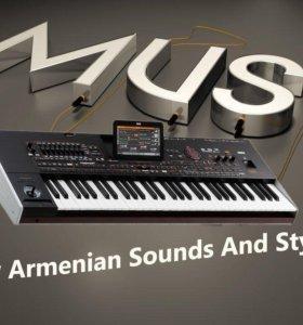Армянские звуки и стили для Korg Pa4x
