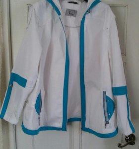 Куртка ветровка 64-70 размер