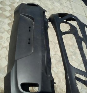 Передний задний бампер на Киа Picanto 2011 год