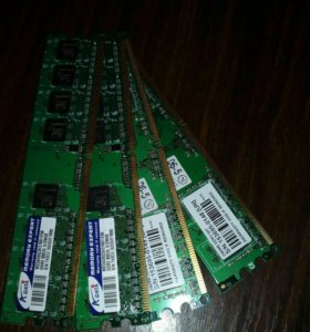 Планки памяти для ПК DDR 2