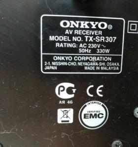 Onkyo tx-sr307