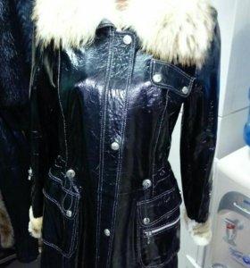 Куртка-плащ меховая Mendo