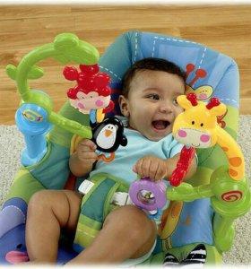 Детское кресло-качалка массажноеfisher-price W9451
