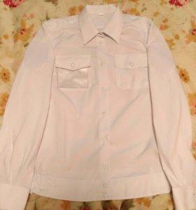 Парадная белая рубашка
