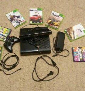 Xbox 360 4гб + Kinect + Игры