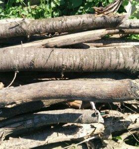 Отдам Бесплатно, бревна под дрова