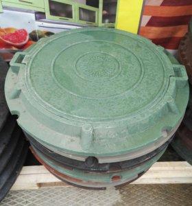 Люк полимерный 750х60