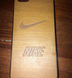 Деревянный чехол для iPhone 5s