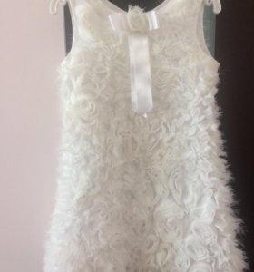 Платье детское 116см