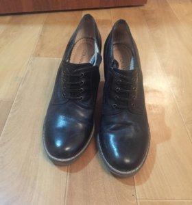 Туфли 39, натуральная кожа